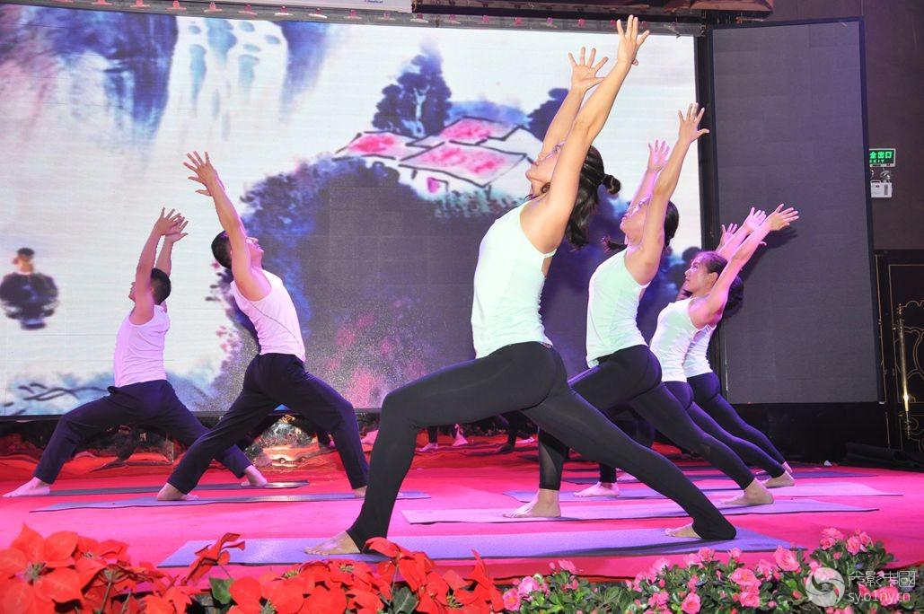 光影瑜伽_神农公园拍瑜伽光影e族