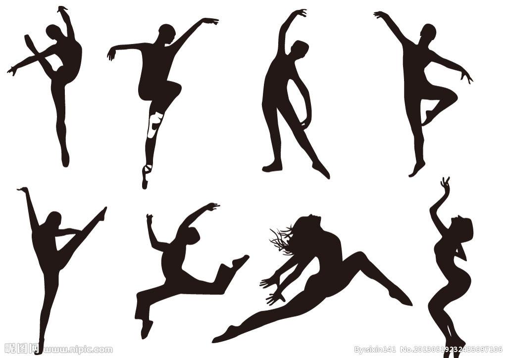 跳舞动态矢量图