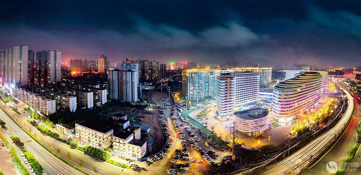 南阳城市夜色