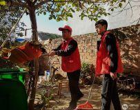 社区志愿者协会开展百名志愿者文明乡村行走进石桥镇 6