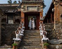 """""""美丽淅川""""第四届全国摄影大赛--瑜伽姑娘"""