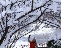 雪中莫愁女