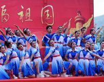 祝福祖国健身舞蹈赛4