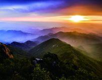 雾灵山日出