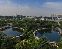 环境优美的南阳污水处理中心