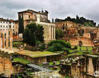 古罗马的废墟