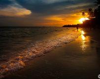 金色的海滩 ----- 菲律宾薄荷岛