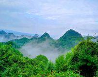 云雾麦积山