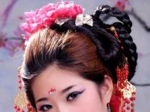 学员化妆作品       南阳摄影化妆学校