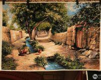 新疆壁毯画