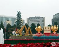 北京展览馆建国70周年大型成就展——国庆花车展(13)