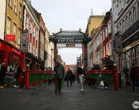 古老的伦敦中国城
