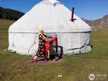 【夕阳红】蒙古包女神