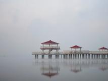 麒麟湖早晨【二幅】