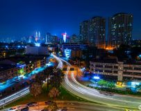 吉隆坡城市夜色
