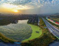 西峡新城日落