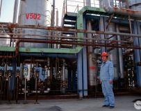 炼油厂一角