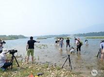 《美丽西江》摄制组在广西融安