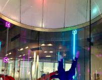 室内跳伞,(Indoor Skydiving)非常棒的经历。