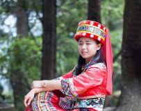乌龙山寨土家妹