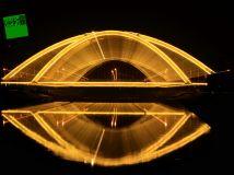 湛河桥夜景04