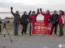 青海省格尔木市海西州克鲁克湖---托素湖采风活动