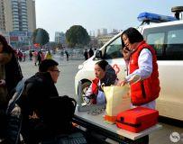 市文物考古研究所志愿者服务队参加文化进万家群众活动 2