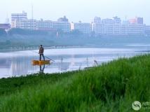雁翎河之晨