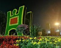 郑州体育公园夜色(手机拍摄)