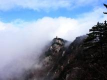 云雾飘渺天堂寨