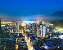 张家界城市夜色