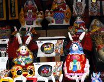 北京新春庙会集锦(2)——龙潭湖庙会非遗作品展之二十一