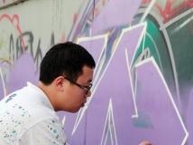 """2014第五期月赛""""劳动者风采""""-<<涂鸦>>-青年画师们(组照)"""