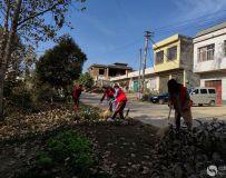 社区志愿者协会开展百名志愿者文明乡村行走进石桥镇 22