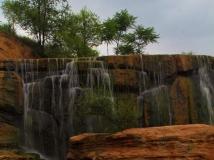 茹河瀑布——潇雨视角