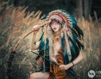 《印第安女孩》