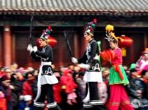 """2014第二期月赛""""年味"""" (传统秧歌-----踩高跷"""
