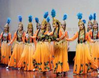 舞蹈—甜甜的葡萄献祖国
