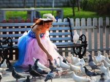 《大众摄影》联谊会投稿--鸽恋