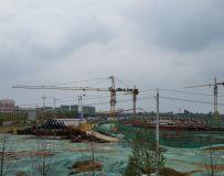 建设中的镇平一馆三中心