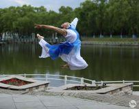 妩媚妖娆瑜伽舞