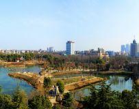 翠湖游园全景图