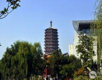 北京园博园看永定塔(1)