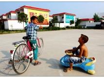 移民村的希望——阳光月影