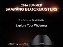 星空利器 三阳正式发布20mm f/1.8镜头