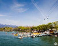 春满雁栖湖(拍摄于北京雁栖湖水上乐园)