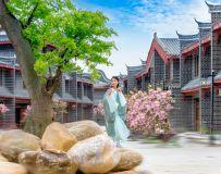 樱花盛开的季节——环境人像(1)