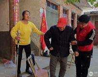 社区志愿者协会开展百名志愿者文明乡村行走进石桥镇 7