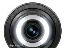 内置照明灯 佳能EF-M28mm镜头外观流出