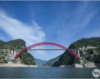 香溪长江大桥和香溪河大桥